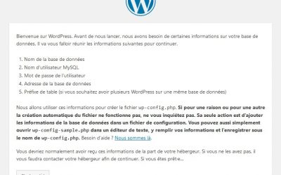 Comment installer simplement WordPress